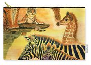 Mother's Day In The Wild Kingdom Carry-all Pouch