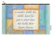Mother's Day Spa Card Carry-all Pouch