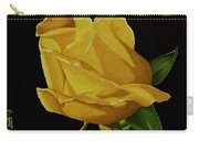 Mother's Yellow Rose Carry-all Pouch by Cory Still