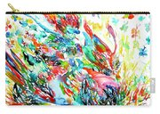 Motor Demon With Butterflies Carry-all Pouch