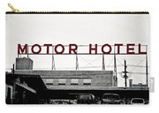 Motor Hotel Carry-all Pouch