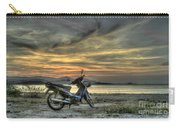 Motorbike At Sunset Carry-all Pouch