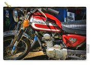 Motorcycle - 1974 Honda Cl 125 Scrambler Classic Carry-all Pouch