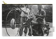 Motorcycle And Velocipede - 1921 Carry-all Pouch