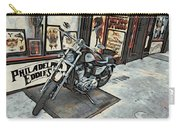Motorcycle At Philadelphia Eddies Carry-all Pouch