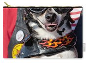 Motorcycle Chihuahua Carry-all Pouch