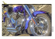 Motorcycle Without Blue Frame Carry-all Pouch