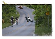 Motorcycles And Bicycles Carry-all Pouch