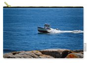 Motoring On Casco Bay Carry-all Pouch