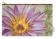 Moulin Floral 1 Carry-all Pouch by Debbie DeWitt