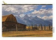 Moulton Barn Panorama - Grand Teton National Park Wyoming Carry-all Pouch