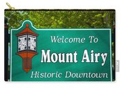 Mount Airy Sign Nc Carry-all Pouch