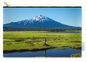 Mount Bachelor And Meadow Carry-all Pouch