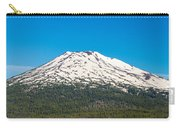 Mount Bachelor Closeup Carry-all Pouch
