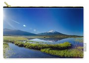 Mount Bachelor Lens Flare Carry-all Pouch