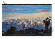 Mount Baldy On A New Years Eve Carry-all Pouch