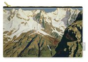Mount Blanc Mountains Carry-all Pouch