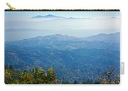 Mount Diablo From Mount Tamalpias-california Carry-all Pouch