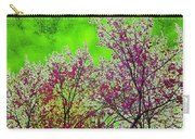 Mount Fuji In Bloom Carry-all Pouch