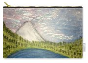 Mount Hood Night Sky Carry-all Pouch