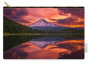 Mount Hood Sunrise Carry-all Pouch