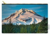 Mount Hood Winter Carry-all Pouch