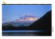 Mount Hoods Looms Over Lost Lake  Hood Carry-all Pouch