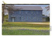 Mount Horeb Masonic Lodge 137 With Bluebonnets Carry-all Pouch