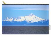 Mount Iliamna Across Cook Inlet From Ninilchik-alaska Carry-all Pouch