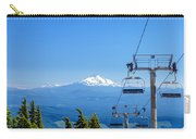 Mount Jefferson And Chairlifts Carry-all Pouch
