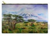 Mount Kilimanjaro Tanzania Carry-all Pouch