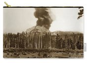 Mount Lassen Volcano California 1914 Carry-all Pouch