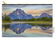 Mount Moran At Sunrise Carry-all Pouch
