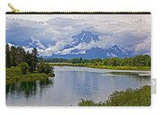 Mount Moran From Oxbow Bend N Grand Teton National Park-wyoming Carry-all Pouch