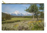Mount Moran View Carry-all Pouch by Brian Harig