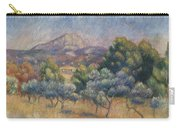 Mount Of Sainte-victoire, C.1888-89 Carry-all Pouch