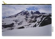 Mount Rainer In The Clouds Carry-all Pouch