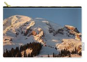 Mount Rainier Alpenglow Carry-all Pouch