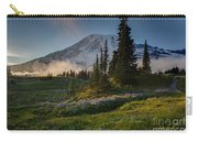 Mount Rainier Evening Fog Carry-all Pouch