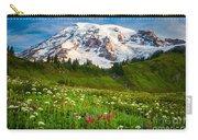 Mount Rainier Flower Meadow Carry-all Pouch