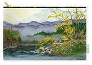 Mount Rainier From Carbon River Carry-all Pouch