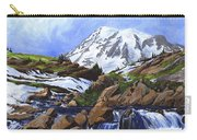 Mount Rainier From Edith Creek Carry-all Pouch