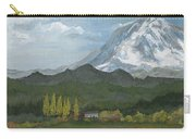 Mount Rainier From Lake Rap John  Carry-all Pouch