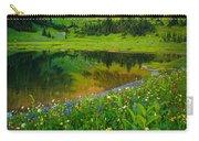 Mount Rainier Lake Carry-all Pouch