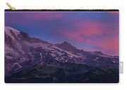Mount Rainier Sunrise Carry-all Pouch