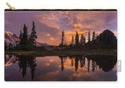 Mount Rainier Sunrise Reflection Glow Carry-all Pouch