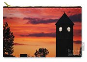 8.15 On The Mount Royal Clock Tower Baltimore Carry-all Pouch