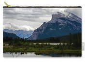 Mount Rundle And Vermilion Lake Carry-all Pouch