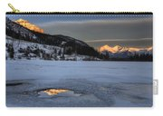 Mount Rundle And Vermillion Lakes Carry-all Pouch