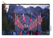 Mount Rushmore At Night Carry-all Pouch